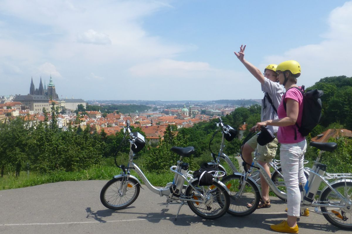 E-bike tour in Prague