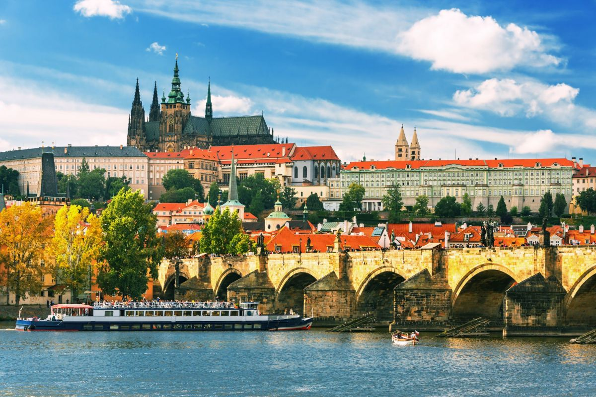 Cruise in Prague
