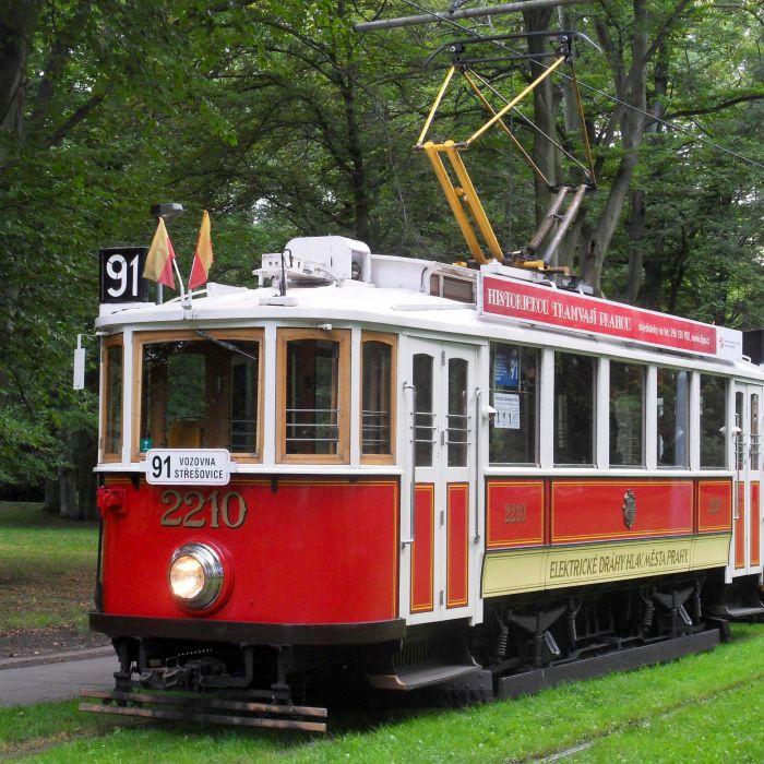 Projížďka historickou tramvají