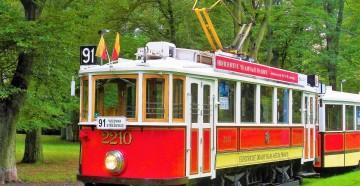 Die Fahrt mit historischer Strassenbahn