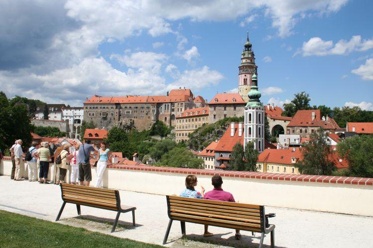 Castillo en Český Krumlov