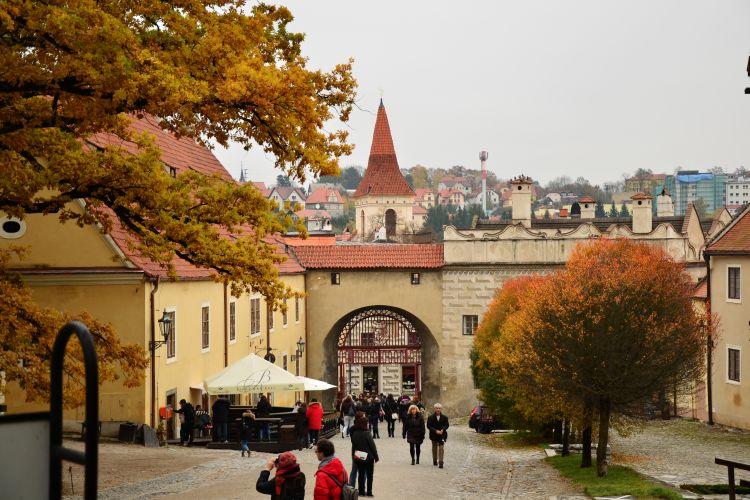Pražský hrad, brány