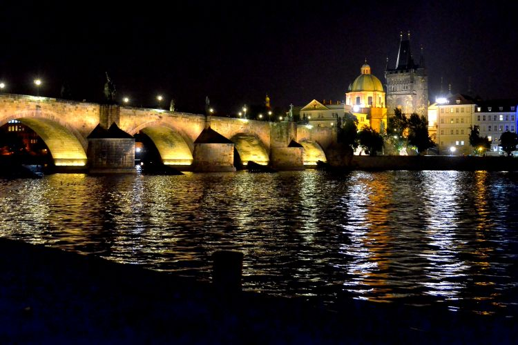Prague by Night River Cruise with Dinner
