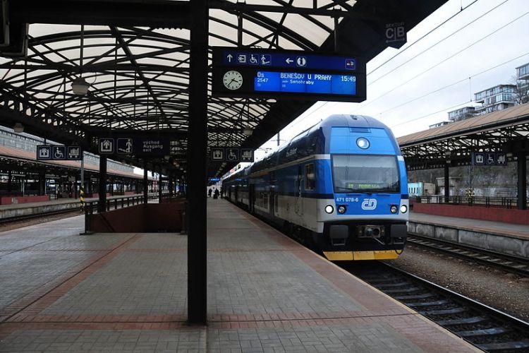 Hlavní nádraží, nástupiště