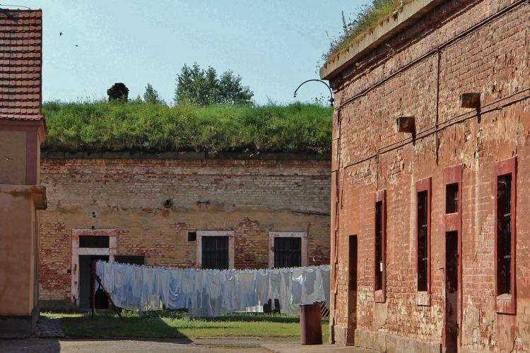 Areál památníku Terezín