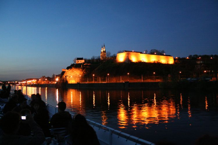 Krásná noční Praha