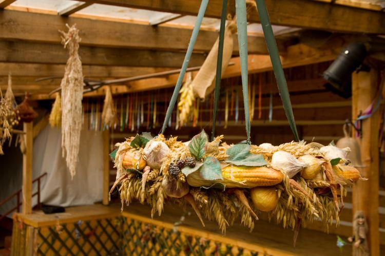 Folklórní interiér