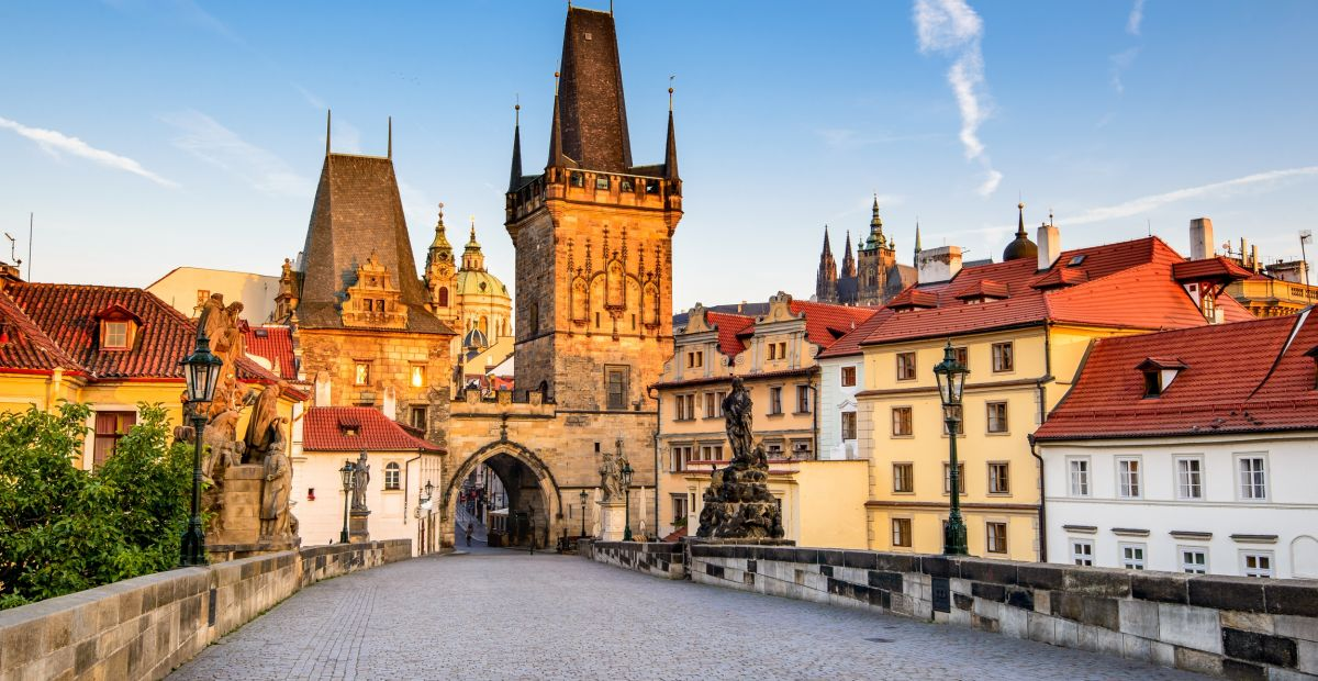First visit to Prague Walking tour