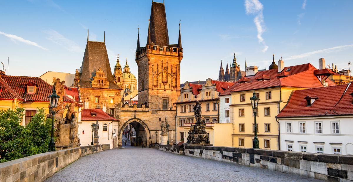 Das erste Mal in Prag
