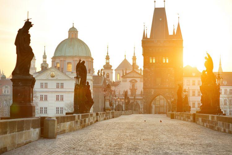 First visit to Prague Walking tour