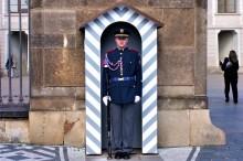 Stráž na Pražském hradě