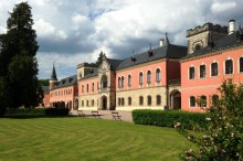 Sychrov Castle is located in a beautiful, Liberec region