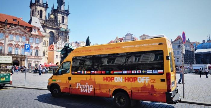 HopOn - HopOff 24h + Plavba lodí - MOMETÁLNĚ MIMO PROVOZ