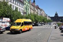 Hop on Hop off - Václavské náměstí