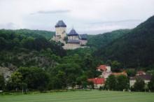 Panorama hradu Karlštejn
