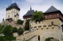 Areál hradu Karlštejn