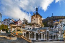 Karlovy Vary is a city full of colors and healing springs