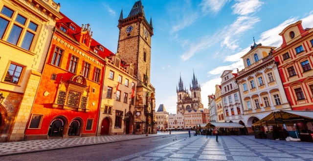 Старый и Новый Пражский город