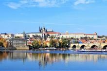 An hour long cruise on Vltava river