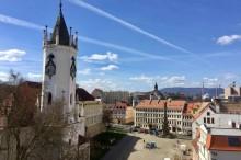 Teplice Castle Square